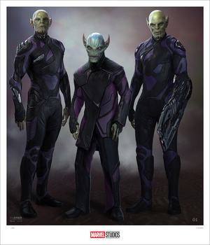 (Captain Marvel) Skrulls (prints), Ian Joyner