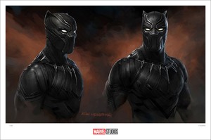 (Captain America: Civil War) Black Panther (print), Ryan Meinerding