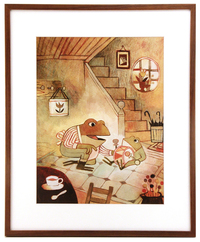 Pokko and Father (FRAMED print), Matthew Forsythe