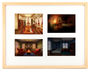 The Art of The Wonderland: Pg 104-105 House Interiors, Ilya Kuvshinov