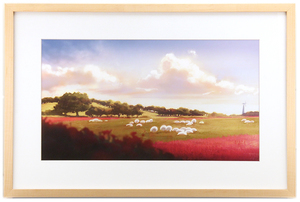 The Art of The Wonderland: Pg103 Sheep Field, Ilya Kuvshinov