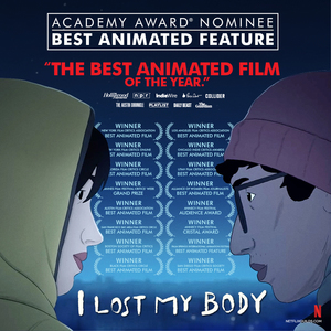 I Lost My Body Panel / Signing with director Jérémy Clapin