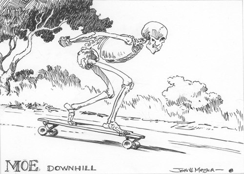 Moe Downhill, Jon Messer