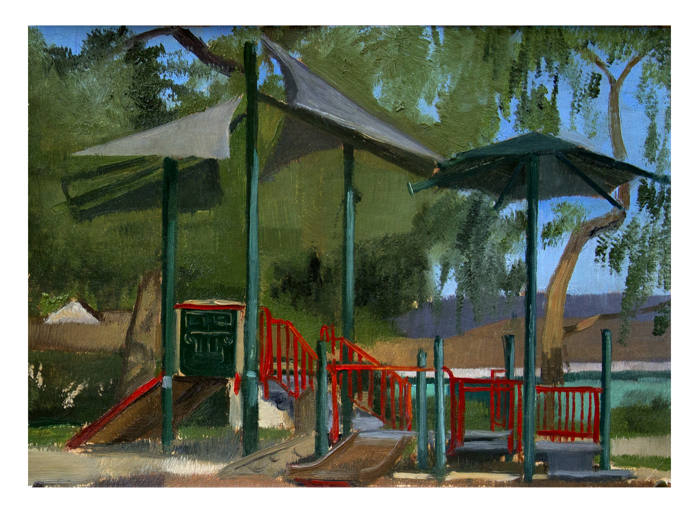 Mountain View Park Playground, James Wu
