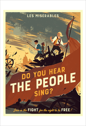 Do You Hear the People Sing? (print), Michael McCain