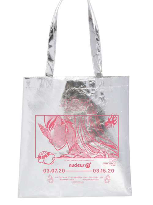 Tote Bags (Silver), Babs Tarr