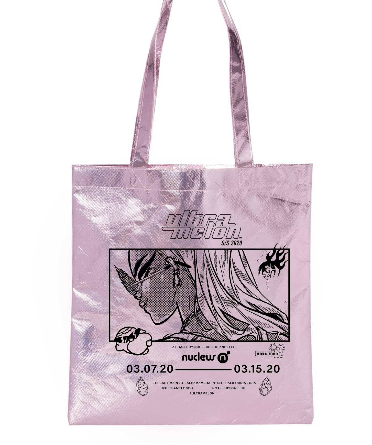 Tote Bags (Pink), Babs Tarr