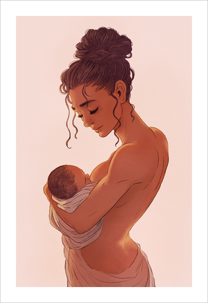 Mother 2 (print), jisoo kim