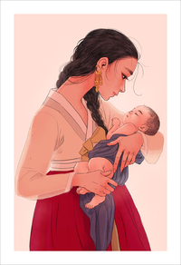 Mother 3 (print), jisoo kim