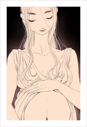 Mother 6 (print), jisoo kim