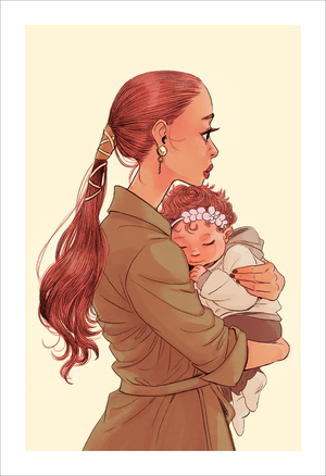 Mother 7 (print), Jisoo Kim