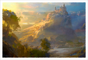 Sunset Castle (print), Nathan Fowkes