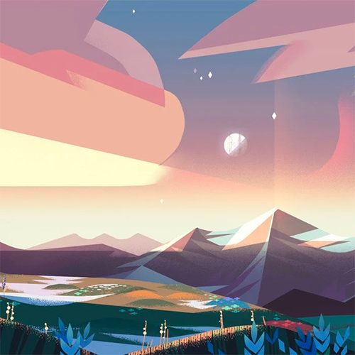 Vis  Dev & Background Design for Animation w/ Elle Michalka