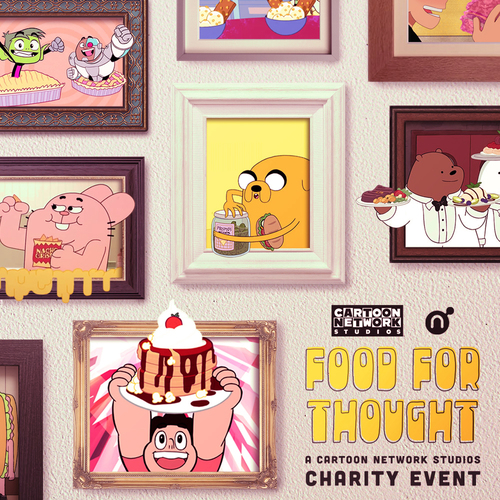 Food For Thought: A Cartoon Network Studios Charity Event