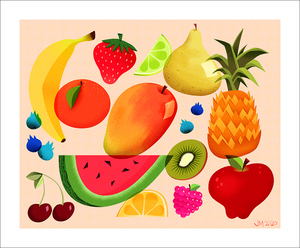 Fruit Composition, Jess Marfisi