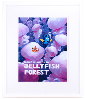 Finding Nemo - Jellyfish Forest, Bryce Kho
