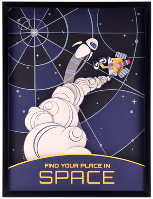 Find Your Place in Space, Jackie Huang