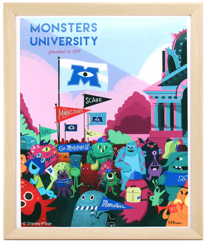 Monsters University 1313, Oliver Akuin