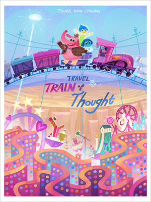 Train of Thought (print), Joey Chou