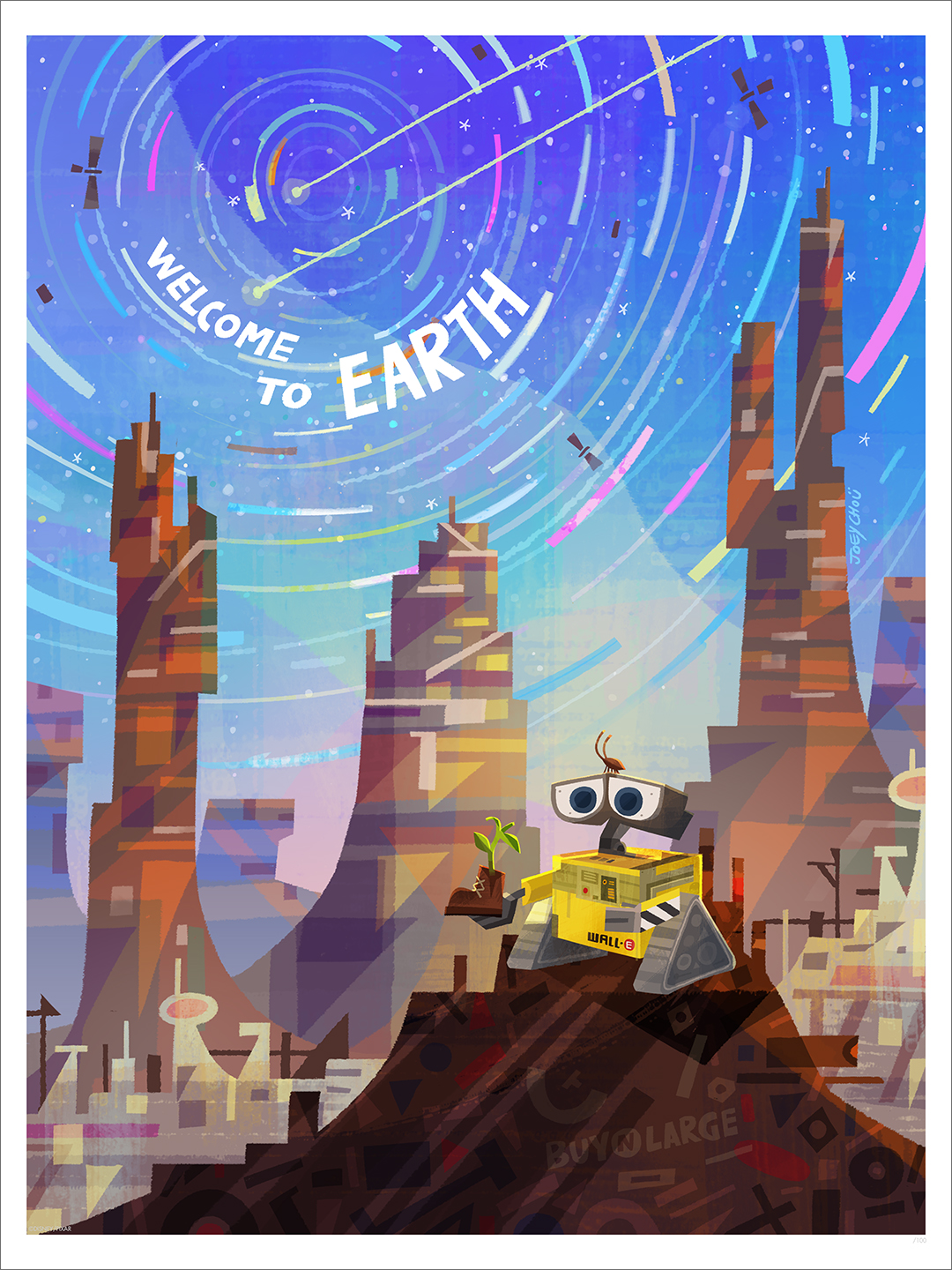 Earth (print), Joey Chou