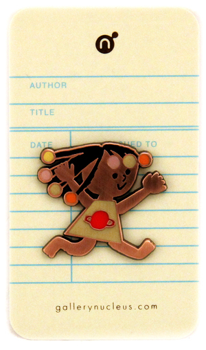 Christian Robinson Another - Nucleus Enamel Pin, Christian Robinson