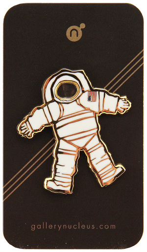 Scott C. Space Suit 1 - Nucleus Enamel Pin, scott c