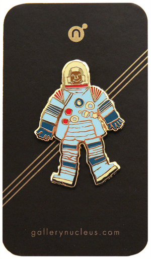 Scott C. Space Suit 2 - Nucleus Enamel Pin, scott c
