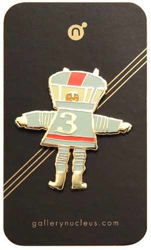 Scott C. Space Suit 3 - Nucleus Enamel Pin, scott c