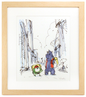 Mike and Sulley by Ricky Nierva (Monsters University) - Framed, 1st Edition