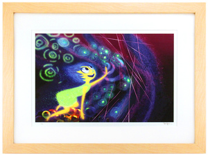 Joy by Ralph Eggleston (Inside Out) - Framed, 1st Edition