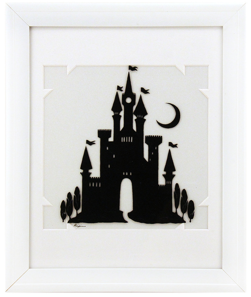 Fairytale Silhouette - Castle in Moonlight, Sara Kipin
