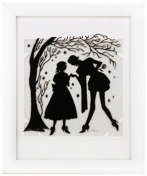 Fairytale Silhouette - Lovers Meeting, Sara Kipin