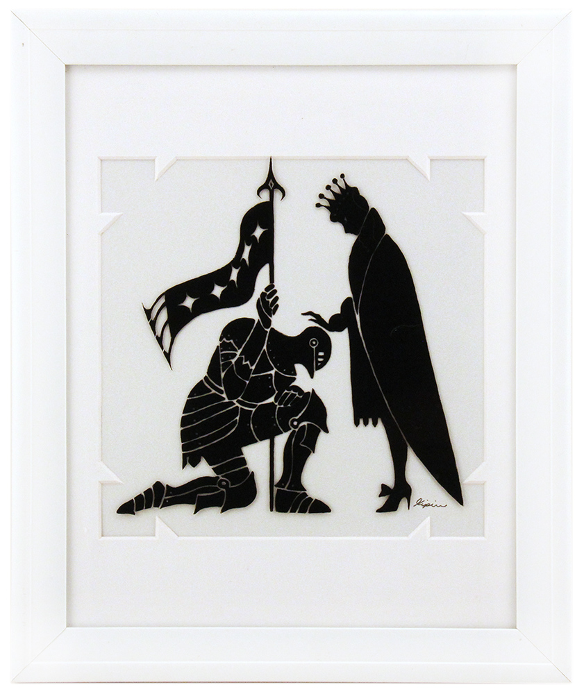 Fairytale Silhouette - Knight's Vow, Sara Kipin