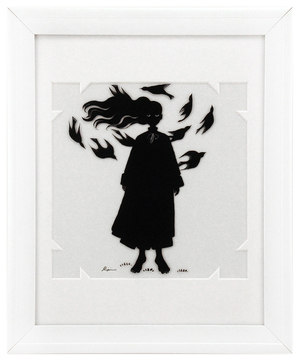 Fairytale Silhouette - A Murder of Crows, Sara Kipin