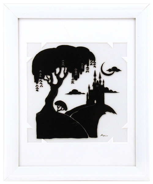 Fairytale Silhouette - Far Off Castle, Sara Kipin