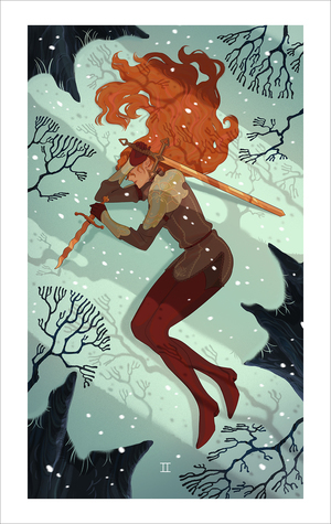 Two of Swords (print), Sara Kipin