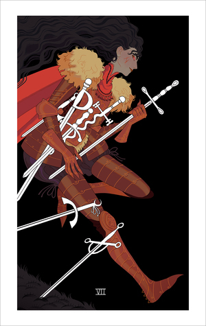Seven of Swords (print), Sara Kipin