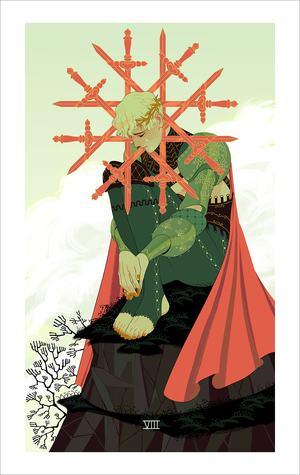 Eight of Swords (print), Sara Kipin