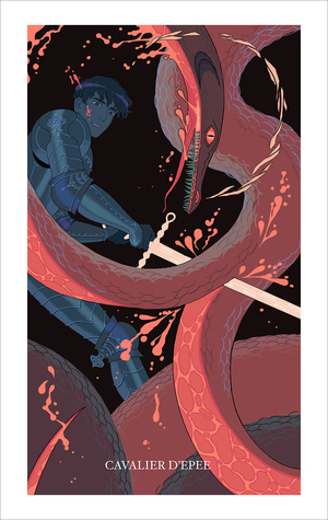 Knight of Swords (print), Sara Kipin