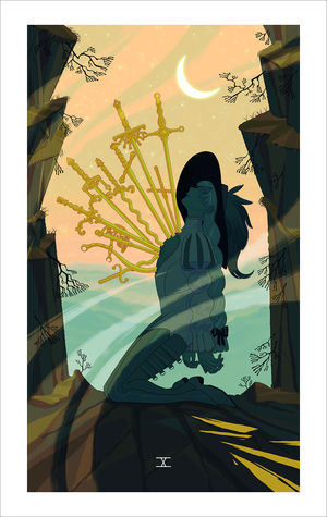Ten of Swords (print), Sara Kipin