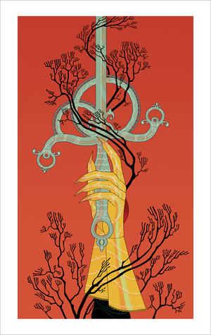 Ace of Swords (print), Sara Kipin