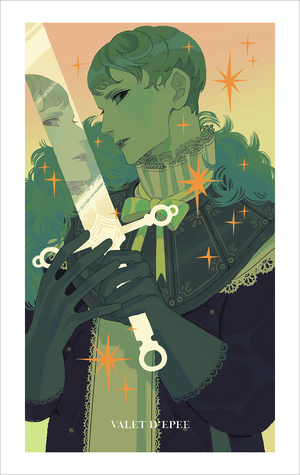 Page of Swords (print), Sara Kipin