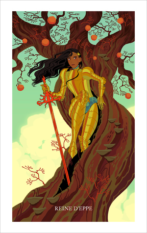 Queen of Swords (print), Sara Kipin