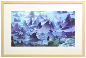 Losing Dory by Daniel López Muñoz (Finding Dory) - Framed