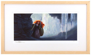 Ice Cave by Steve Pilcher (Brave) - Framed