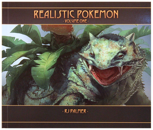 Realistic Pokemon - Volume One Art Book