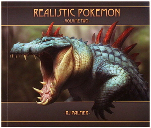 Realistic Pokemon - Volume Two Art Book