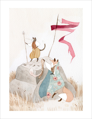 After the Battle (print), Vanessa Gillings