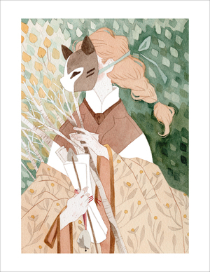 The Fox's Apprentice (print), Vanessa Gillings