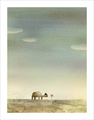 Rock from the Sky - Page 6 (Print), Jon Klassen